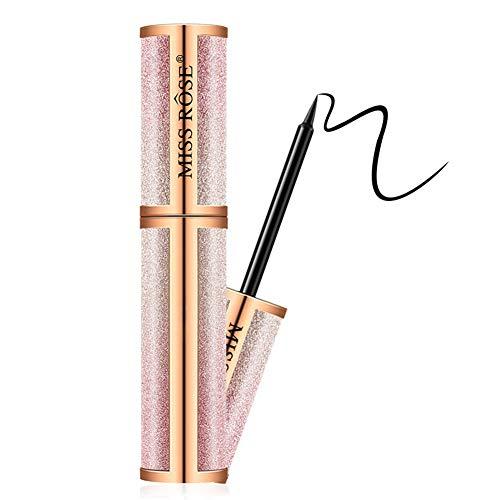 ColorfulLaVie Eyeliner liquide étanche, Eyeliner durable anti-bavures sans stylo eyeliner Blooming Big Eyes
