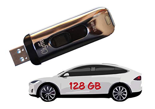 Dashcam and Sentry Portable SSD USB Drive for Tesla Model S/3/X/Y - 128 GB - Tesla Dashcam Drive