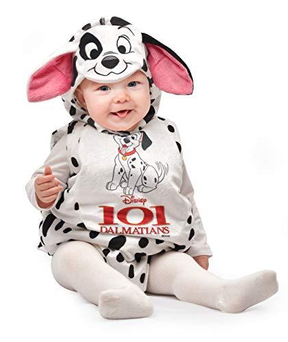 Ciao-Baby Dalmata costume tutina fagottino Disney, 6-12 mesi Bambini, 11256.6-12