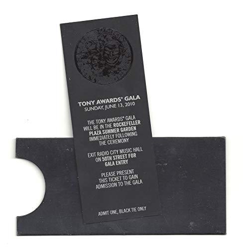 64th Annual TONY AWARDS'Memphis' Scarlett Johansson/Catherine Zeta Jones/Eddie Redmayne 2010 Midnight Gala Ticket