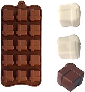 Mold Box - Silicone Chocolate Mold Box Shape Cake Decorating Stencil Moule Moldes De Silicona Para