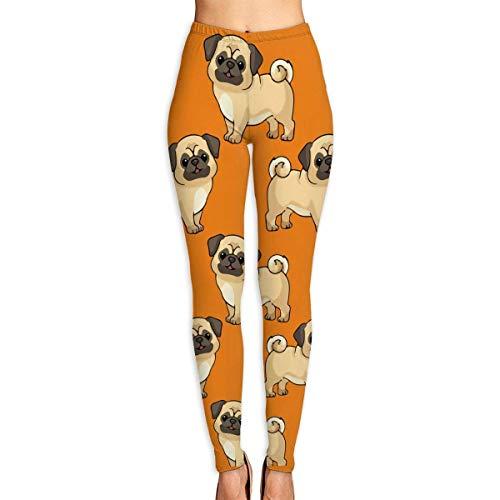 VAICR NCRSPIC Leggings medias deportivas,Personalized Pug Animal Lovers Gift Women's Printed Leggings Pants...