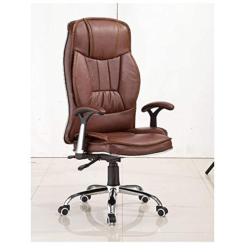 ZXNRTU Relájese cómodamente seguro Silla de ordenador, elevación Silla de oficina al por mayor del hogar de sillón reclinable giro de 360 grados Personal Presidente de Hogares del asiento reclinable