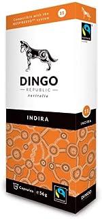 Indira Pods for Nespresso®* - 60 Australian Fairtrade Coffee 11/12 by Dingo Republic (56g per Pod)