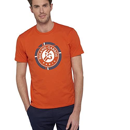 ROLAND GARROS Nestor – Camiseta Modelo Nestor – Blanco – De Algodón – para Hombre – Talla XL Hombre, Hombre, Terre Battue, XS