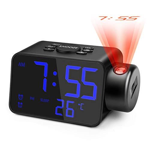 Proyector Hora  marca Jhua