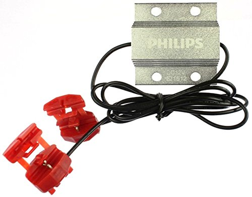 PHILIPS 18957B2 21W Vision LED CAN-bus Warning Canceller, 2 Pack