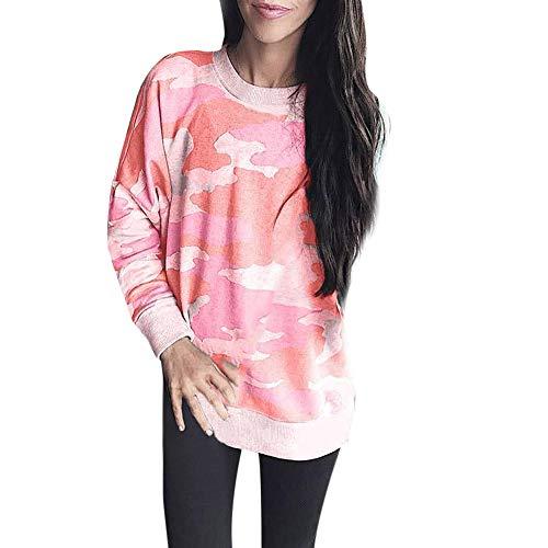 Auifor vrouwen manier camoufleren casual kant shirt dames loslaten lange mouwen kanten blouse