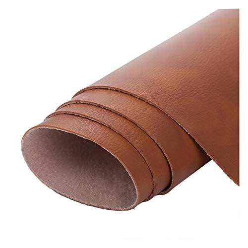 SSYBDUAN Möbelstoff Premium Bezugsstoff Zum Kunstleder Lederimitat Lederstoff Polsterstoff Möbelstoff Meterware Bezugsstoff Breite for Stühle, DIY handgemacht 1.38 × 6m (4.5 × 19.7ft)