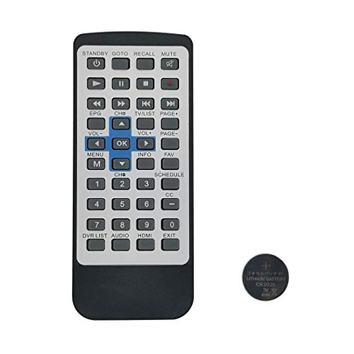 New DTA880 Remote Control for RCA Digital TV Converter Recorder DTA880,Replacement Remote Control with Coin Battery