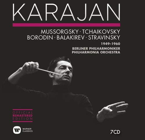 Karajan: The Russian Orchestral Recordings 1949 - 1960