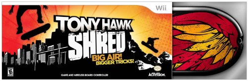 Activision Tony Hawk: Shred - Skateboard Bundle, Wii