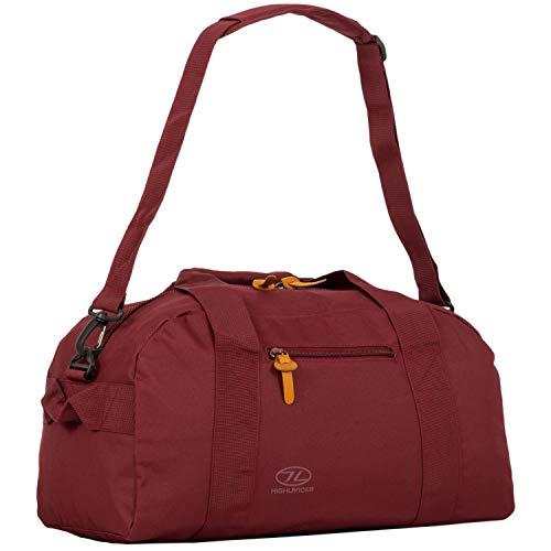 Highlander Unisex Adult Cargo Bag 30 liter robuuste canvastas, ideaal voor op reis of als sporttas, poort, 30 l