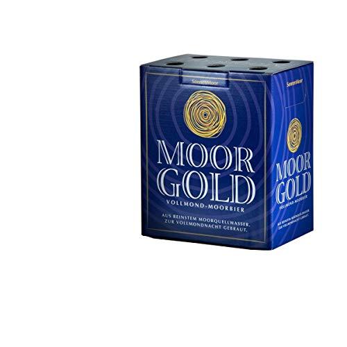 SonnenMoor Moorgold Vollmondbier 6 x 0,33 Liter Spezialbier - Hergestellt in Österreich (6x0,33)