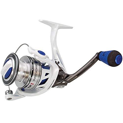 Lews Fishing TPI300 TP1 Inshore Speed Spinning Reel, 6.2: 1 Gear Ratio, 32' Retrieve Rate, 7 Bearings, Left Hand