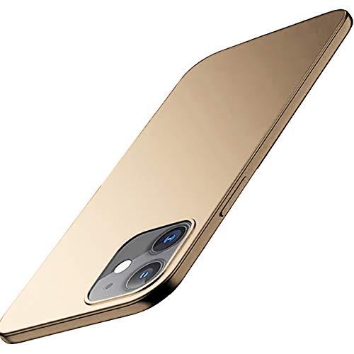 Aikowener iPhone 12 Pro Max Hülle, Ultra Dünn Anti-Fingerprint Anti-Scratch Matt iPhone 12 Mini Schutzhülle, Slim Iphone 12 Pro Hardcase Handyhülle für iPhone 12