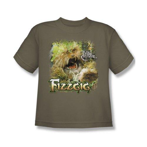 The Dark Crystal - - Fizzgig T-shirt de la jeunesse En vert Safari, X-Large, Safari Green