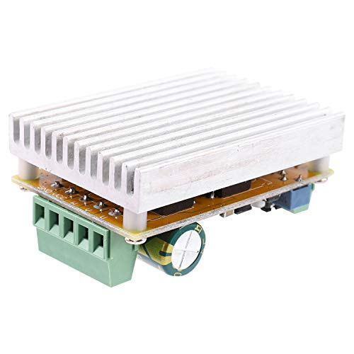 Gravo 380W 3 Phases Brushless Motor Controller Board(No/Without Hall Sensor) BLDC PWM PLC Driver Board 6.5-50V