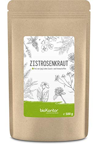 Zistrosenkraut 500g   Cistus Incanus   natürlich - ohne Zusätze   Zistrosenblätter geschnitten   Zistrose aus kontrolliert biologischem Anbau   abgefüllt in Deutschland   bioKontor