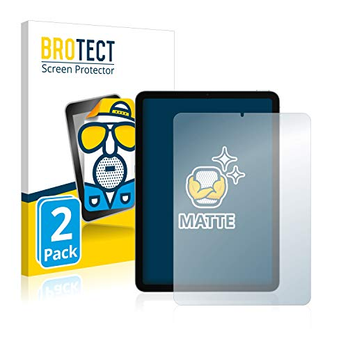 BROTECT Protector Pantalla Anti-Reflejos Compatible con Apple iPad Air 4 WiFi/WiFi Cellular 2020 (2 Unidades) Pelicula Mate Anti-Huellas
