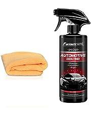 Dreameryoly コーティングされたワックス ナノコーティング剤自動車用ナノコーティング流動性 クイックコートポリッシュカーコーティング剤メンテナンスツール効果的な洗浄、防汚、防塵500ML