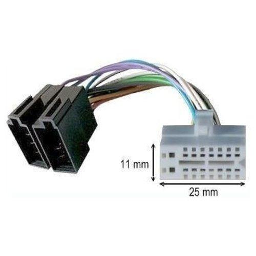 Cavo adattatore ISO autoradio Clarion 16 pin