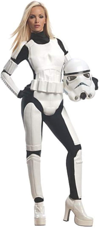Rubie 's Offizielles Star-Wars-Stormtrooper-Kostüm für Damen, für Erwachsene B00BZ62ESY Mangelware  | Haben Wir Lob Von Kunden Gewonnen