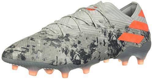 adidas Nemeziz 19.1 Firm Ground Soccer Cleats (8) Grey
