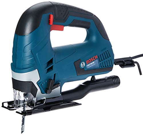 Serra Tico-Tico Bosch GST 90 BE 650 127V, com 1 Lâmina de serra e Adaptador de aspiração em Maleta