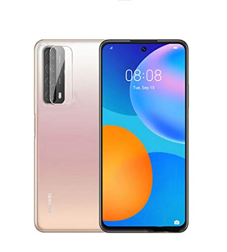 the best camera phone for 2021 FanTings Camera Lens Protective Film for Huawei P Smart 2021, Transparent, Ultra-Thin,Scratch-Resistant,Soft Tempered Glass Lens Protective Film for Huawei P Smart 2021 (2 Pack)