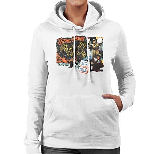 Hamer Horror Films Quatermass Kruipende Onbekende vrouwen Hooded Sweatshirt