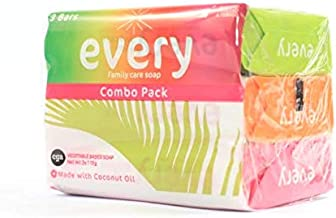 Every Soaps for Germ Protection Combo Pack 3x115g - Contains Crystal Sands, Tropical Breeze and Fresh Waters (Every Soaps ...