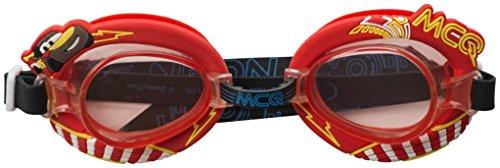 HOVUK Kinder lizenzierte 3D-Schwimmbrille Paw Patrol Cars Minions Frozen Jungen Mädchen (Cars 3D)