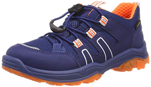 Superfit Jungen Jupiter Gore-Tex Sneaker, Blau (Blau/Orange 80), 40 EU