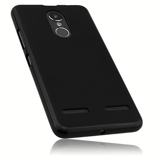mumbi Hülle kompatibel mit Lenovo K6 Handy Hülle Handyhülle, schwarz