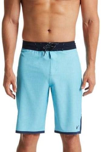 Linen 11-inch Board Shorts Blue Gaze