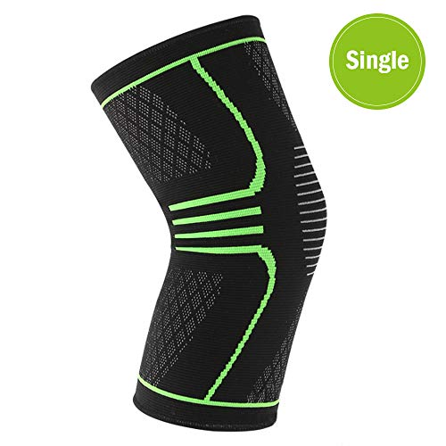 Vech Knee Compression Sleeve Support for Running, Jogging, Sports, Knee Support for Cross Fit, Basketball, Weightlifting, Gym, Workout, Sports etc, Best Knee Brace for Men & Women. (X)