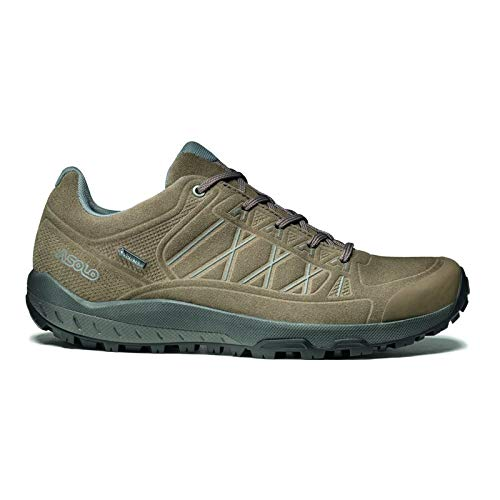 Asolo Women's Grid GV Leather Hiking Shoe Wool 8