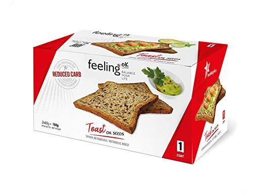 Fooditalia - FeelingOK Start - Protein Toast-Zwieback mit Ölsaaten - 160g