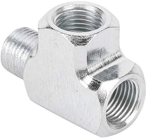 XRYM Junta de Tres vías de Tipo T, aleación de Aluminio y es Duradero para tuberías de tubería de Gas de Gas. 0405