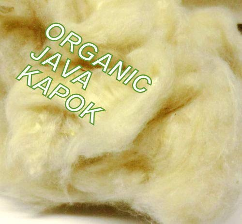 Rembourrage Kapok 1 KILO, Pure pour zafus, oursons, jouets en peluche, sûr pour les enfants, oreillers, housses de coussin, remplir, doux, chaud, écologique, un confort optimal