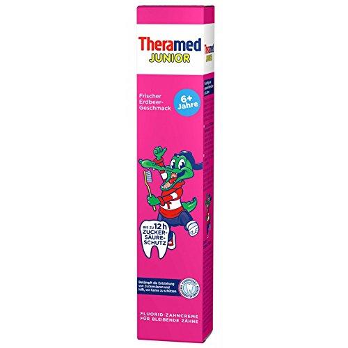 Theramed Junior mit Erdbeergeschmack 75ml