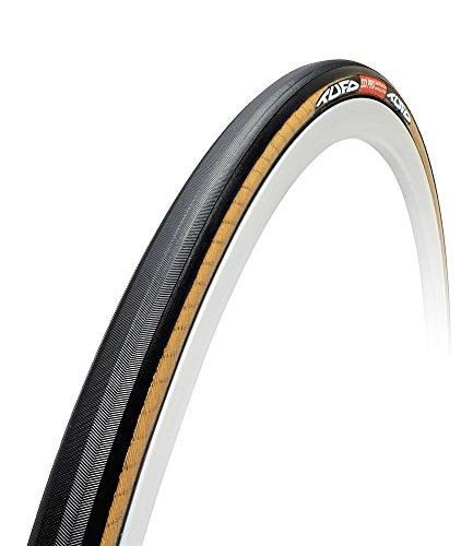 Tufo S33 Pro Schlauchreifen, beige/schwarz, 21mm 28