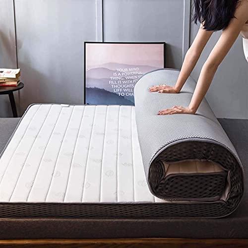 Materasso da Pavimento Spesso 9 cm Pieghevole Giapponese Futon Tatami Tappetino Antiscivolo Tappetino Doppio Singolo Futon Materasso per dormitorio per Studenti, (Dimensioni: 90 * 190 cm, Colore: A)