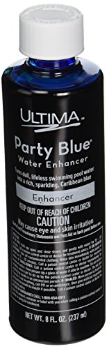 Ultima 27824 Party Blue Water Enhancer for Pools and Spas, 8-Ounce