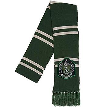 Harry Potter Slytherin Patch Knit Scarf OSFM Green