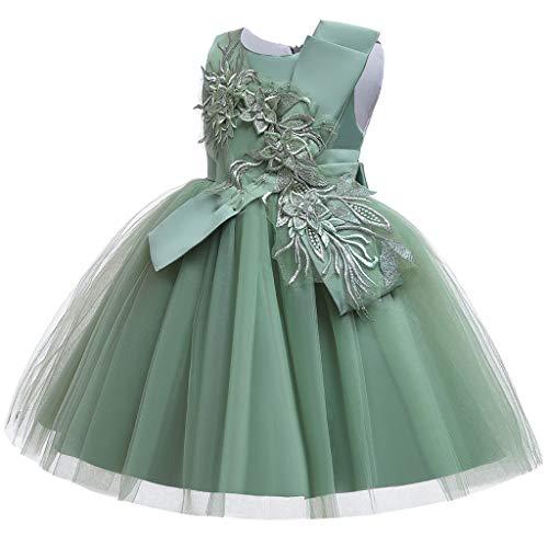 Likecrazy Mädchen Kleid Kinder Spitze Party Brautkleider Layer Tutu Tüll Kleid Prinzessin Pageant...