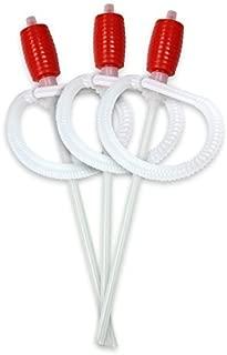 TERA PUMP 3PK TRDP14 Siphon Manual Hand-Operated Liquid Transfer Pump for Light Oils, Kerosene, or Water Based Chemicals