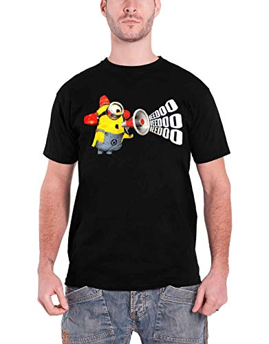 Despicable Me offiziell Minions T Shirt Megaphone Beedoo Movie Logo Nue
