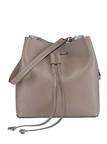 YOUBAG Alya Bucket S - handgefertigte Designer Umhängetasche für Damen aus italienischem Leder -...